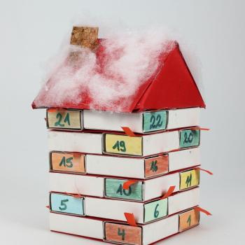 Adventskalender basteln im Spielzeugmuseum